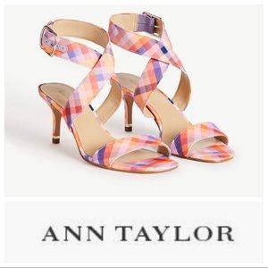 NWT Ann Taylor Letha Wrap Sandal